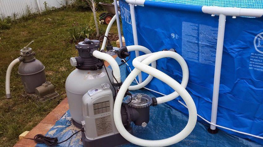 Фильтрационная установка к бассейну