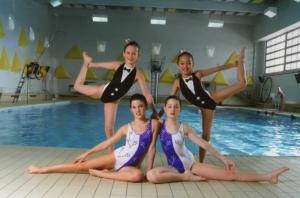 Детские синхронное плавание