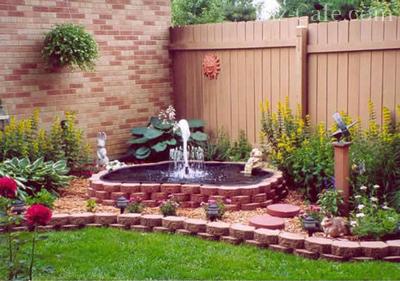 Выбор размещения фонтана