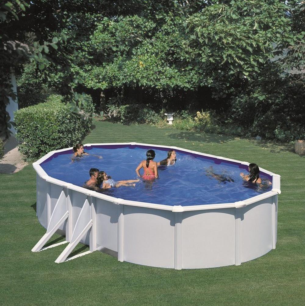 Пример секционного каркаса бассейна