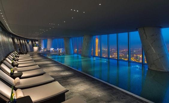Отель «4 сезона», Гуанчжоу – бассейн