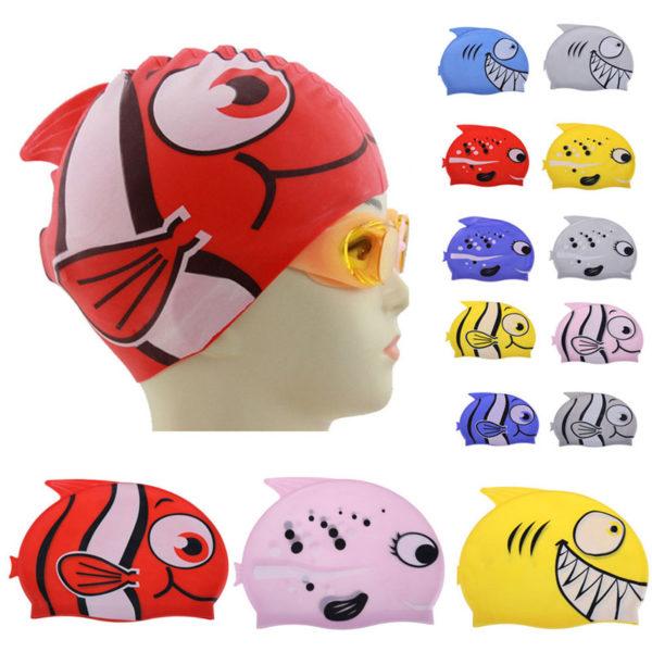 Детские плавательные шапочки