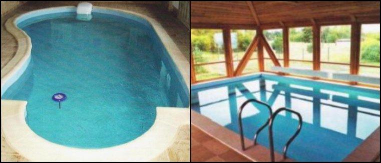 Обогрев крытых бассейнов