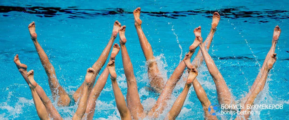 синхронное плавание параметры