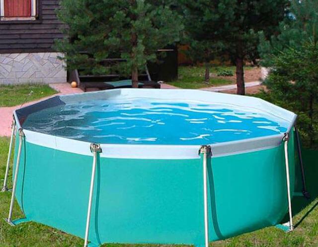 бассейн для бани из пластика