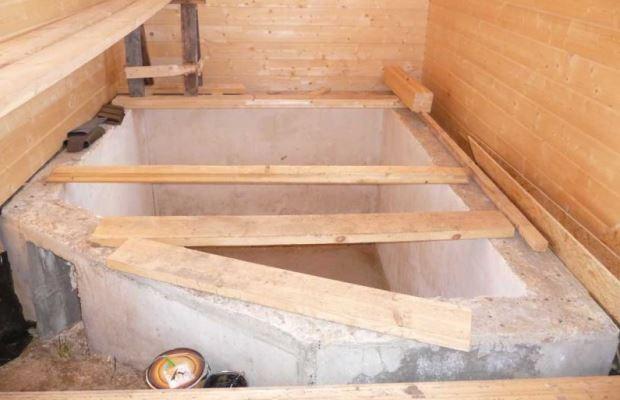 Стационарный бассейн в бане