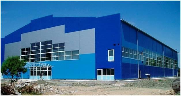 Строительство зданий из ЛСТК