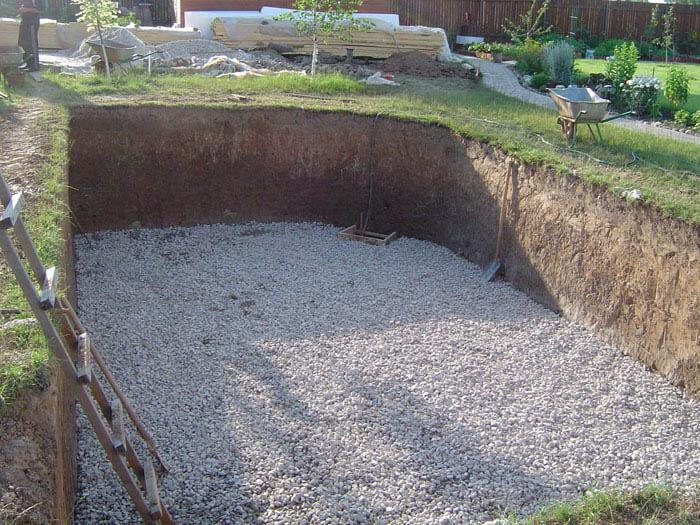 Каркасный бассейн на участке: как приготовить площадку под бассейн
