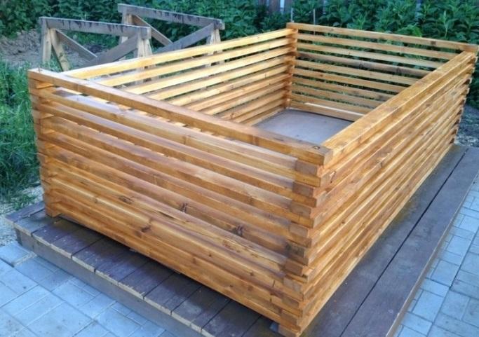 Самодельный деревянный каркас