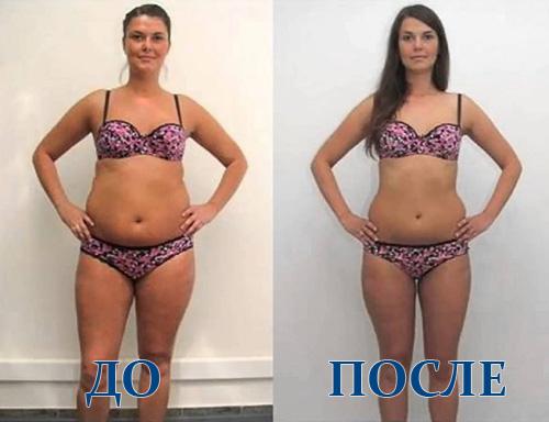 Фото до и после аквааэробики