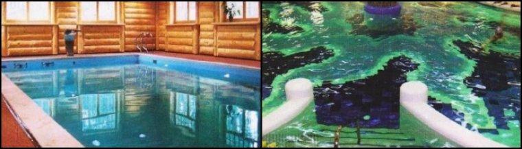 Обходные дорожки, ступени для бассейна, поручни