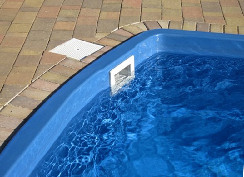 фильтрации воды в скиммерном бассейне