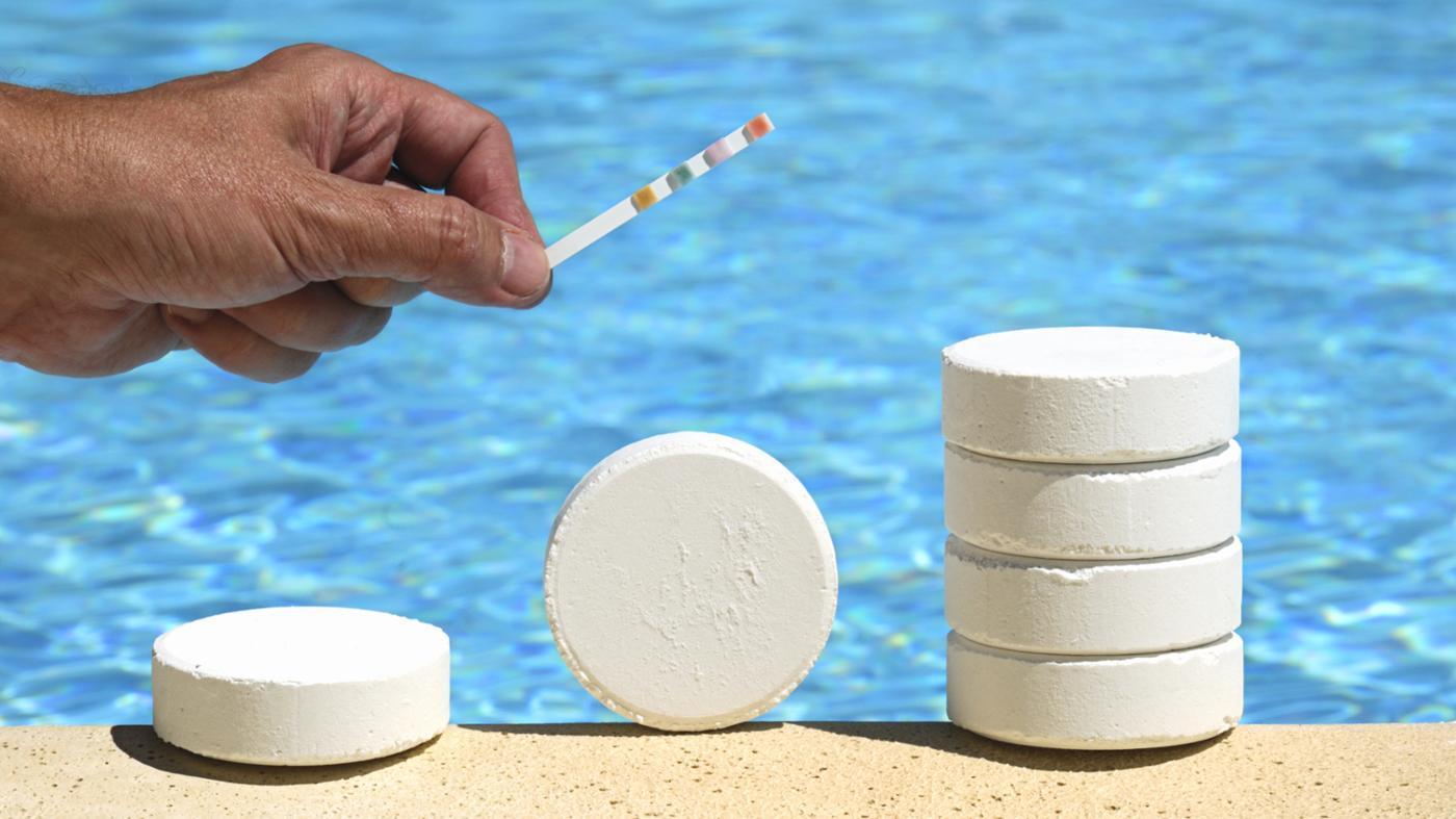 Хлорный препарат для бассейнов в таблетках
