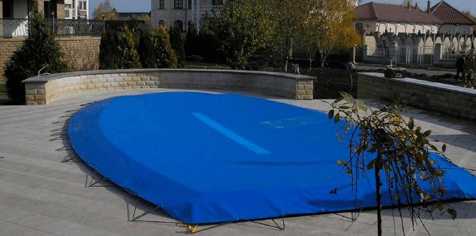 как закрыть бассейн на зиму