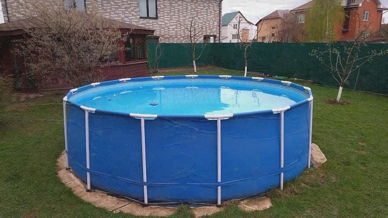 правила эксплуатации каркасного бассейна