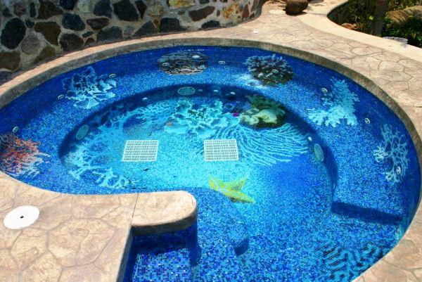 мозаика для бассейна фото 12
