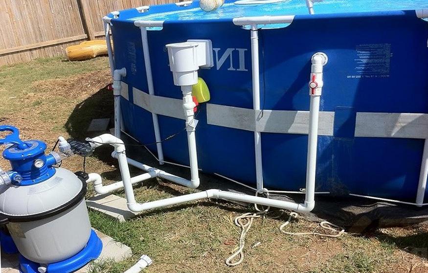 насос для очистки воды в бассейне