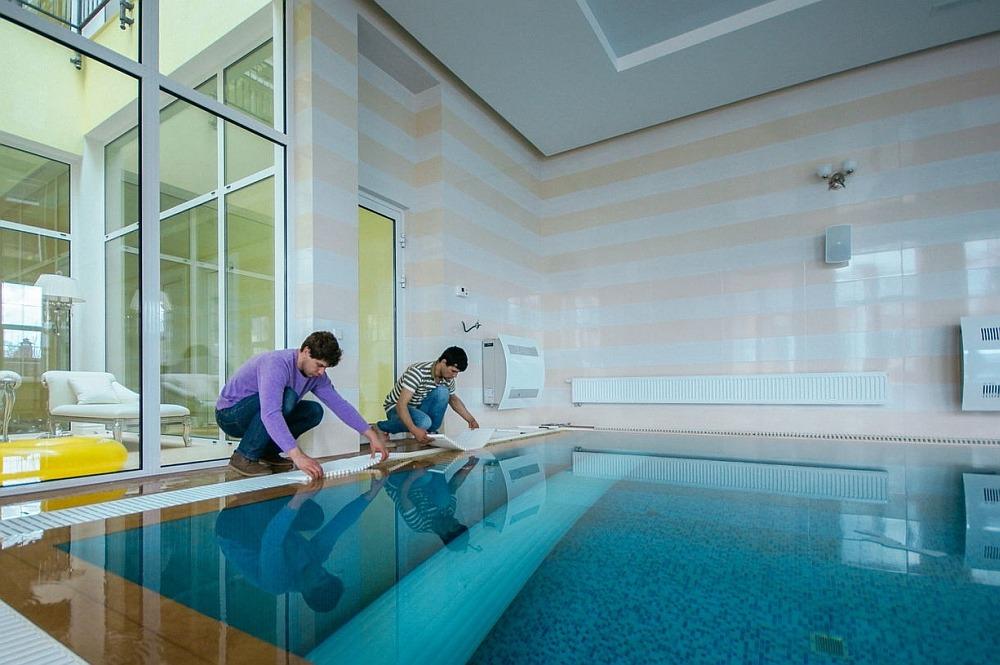 Обслуживание плавательного бассейна