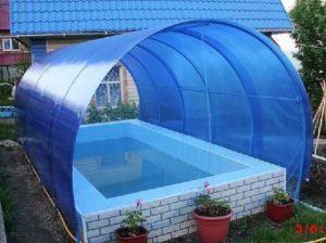 Кирпичный вариант бассейна