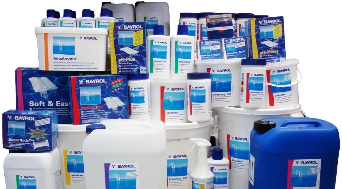 Средства для хлорирования воды