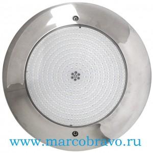 Прожектор светодиодный Aquaviva HT201S многоцветный (18 Вт, 12В), накладной, из нержавеющей стали AISI-316