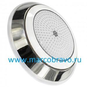 Прожектор светодиодный Aquaviva LED002 многоцветный (18 Вт, 12В), накладной, из нержавеющей стали