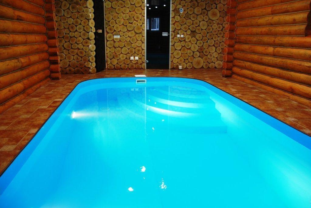 ПВХ бассейн в бане