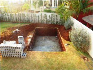 Какой формы бассейн сделать