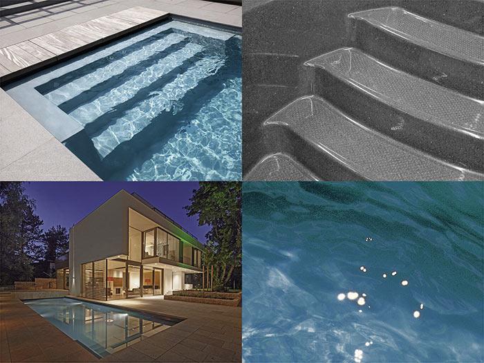 Композитный бассейн RivieraPool цвет серый гранит