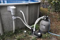 Самодельный песочный фильтр для бассейна