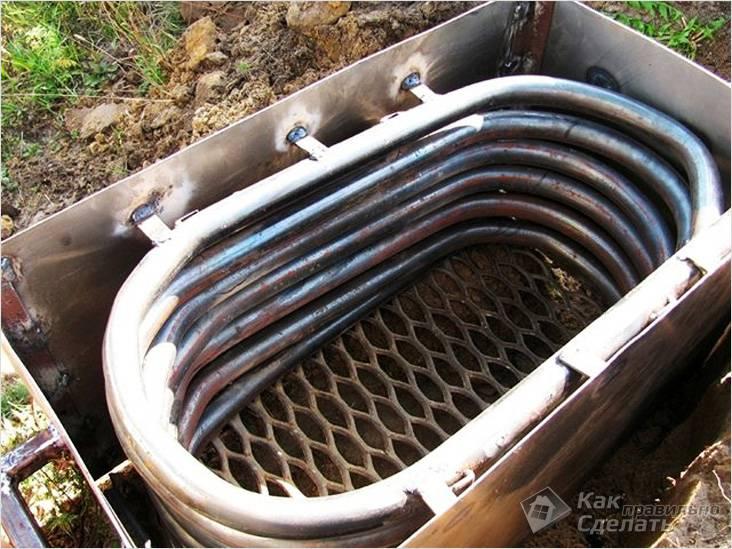 Спиральный водонагреватель