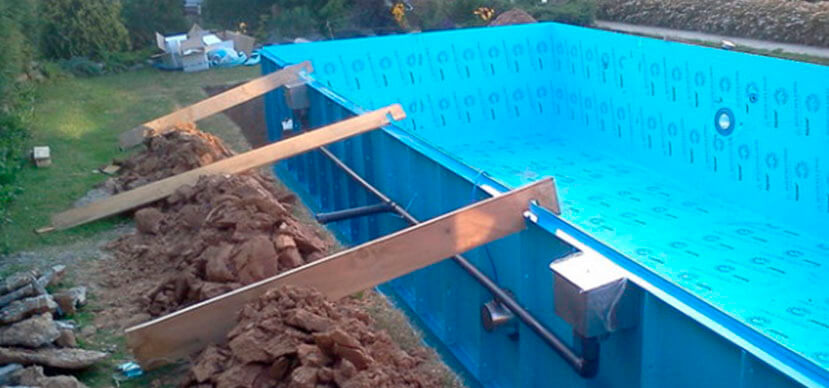 Изготовление бассейнов из полипропилена